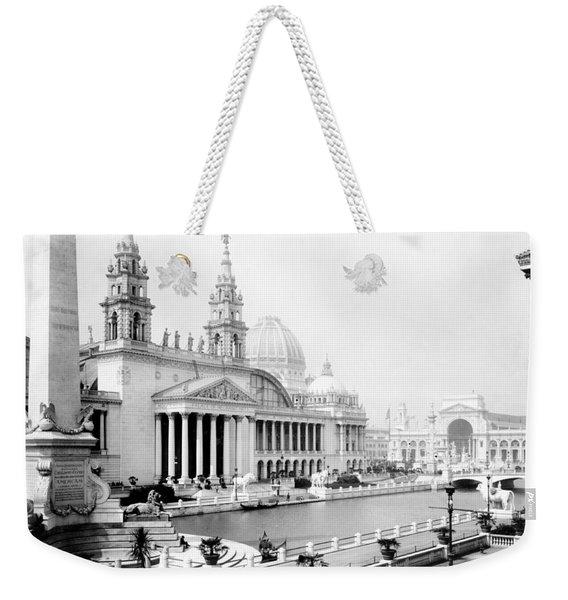 Columbian Expo, Palace Of Mechanic Weekender Tote Bag