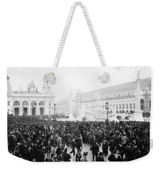Columbian Exposition, Opening Day, 1893 Weekender Tote Bag