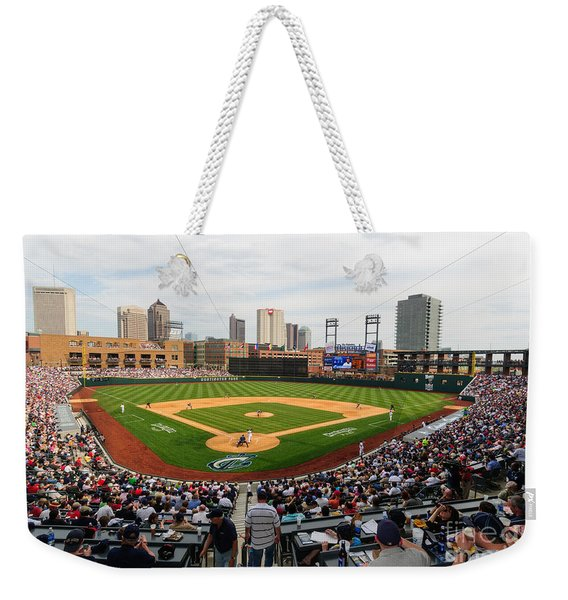 D24w-295 Columbus Clippers Photo Weekender Tote Bag