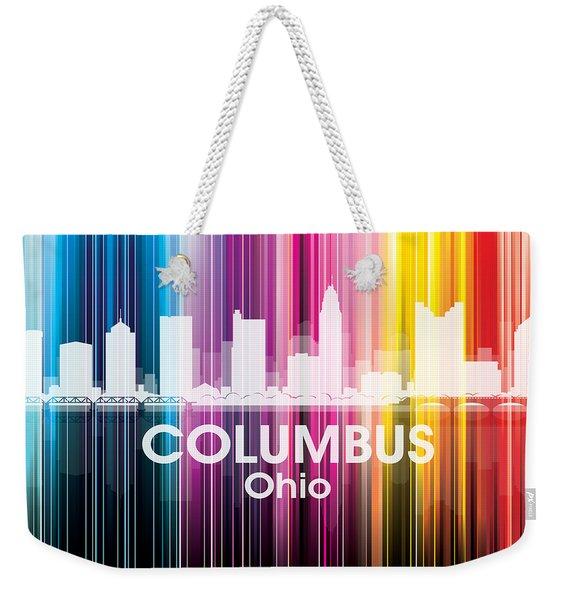 Columbus Oh 2 Weekender Tote Bag