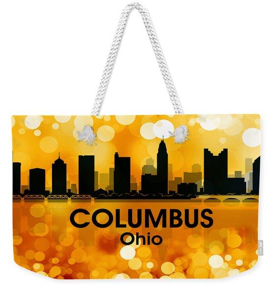 Columbus Oh 3 Weekender Tote Bag