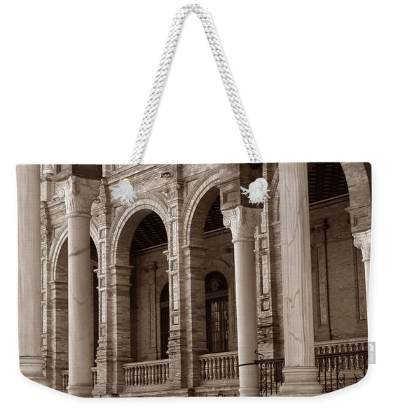 Columns And Arches Weekender Tote Bag