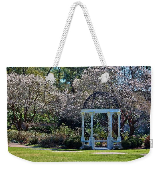 Come Into The Garden Weekender Tote Bag