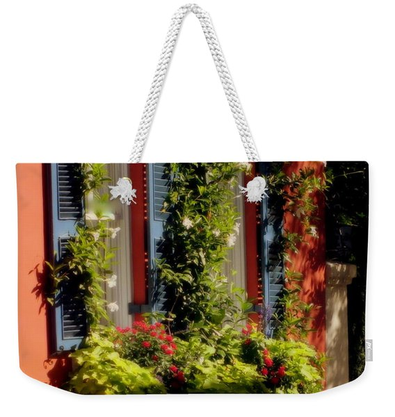 Come To My Window Weekender Tote Bag