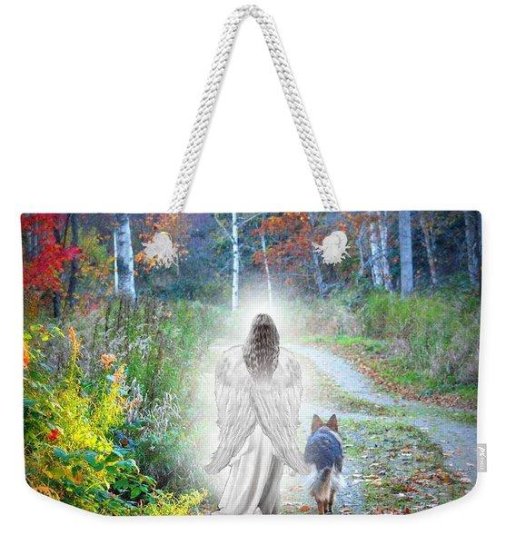 Come Walk With Me Weekender Tote Bag