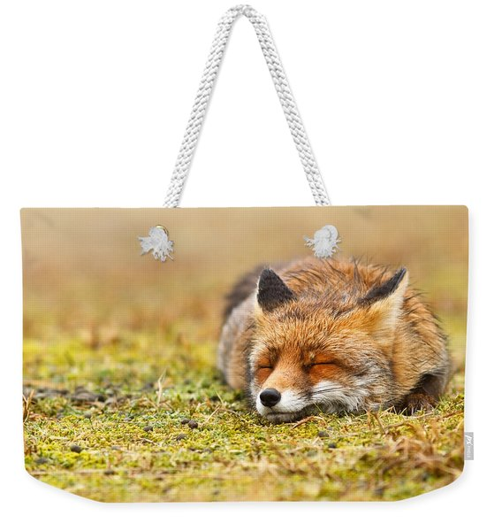 Comfortably Fox Weekender Tote Bag