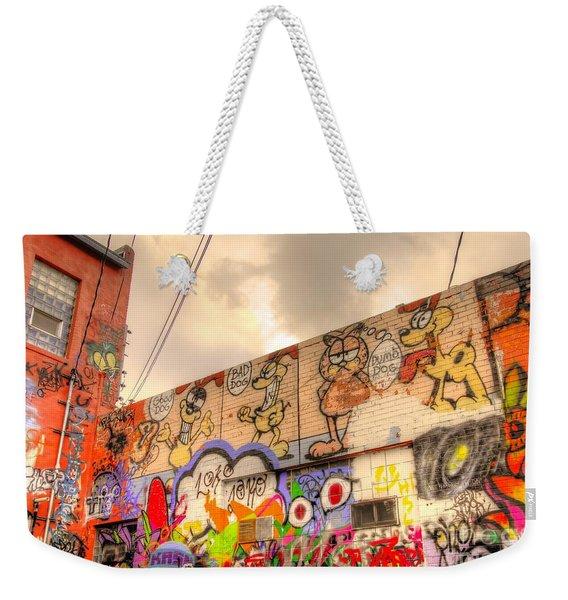 Comical Relief Weekender Tote Bag