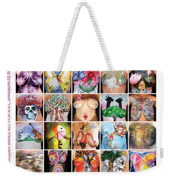 2015 Commemorative Breast Strokes Poster Weekender Tote Bag
