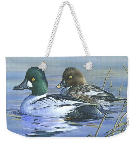 Common Goldeneye Weekender Tote Bag