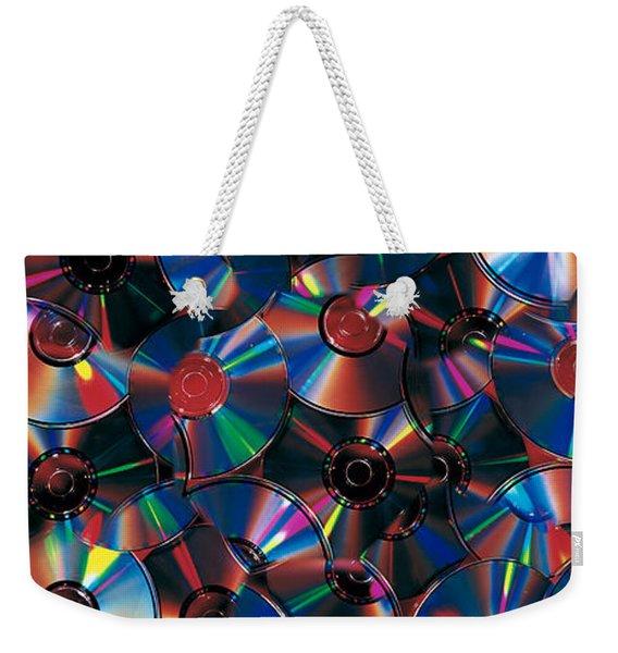Compact Discs Weekender Tote Bag