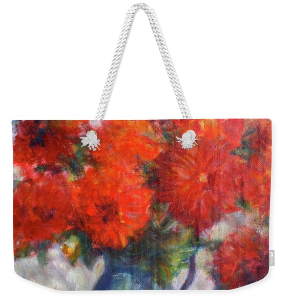 Complementary - Original Impressionist Painting - Still-life - Vibrant - Contemporary Weekender Tote Bag