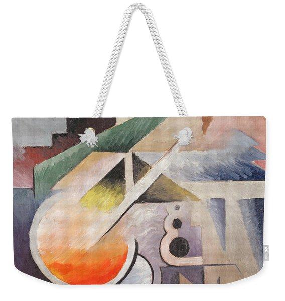 Composition Weekender Tote Bag