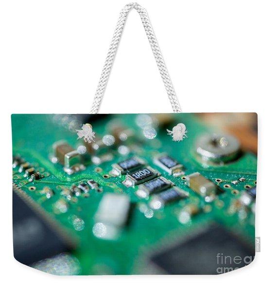 Computer Board Weekender Tote Bag