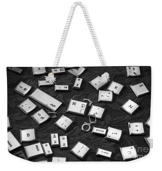 Computer Keys Weekender Tote Bag