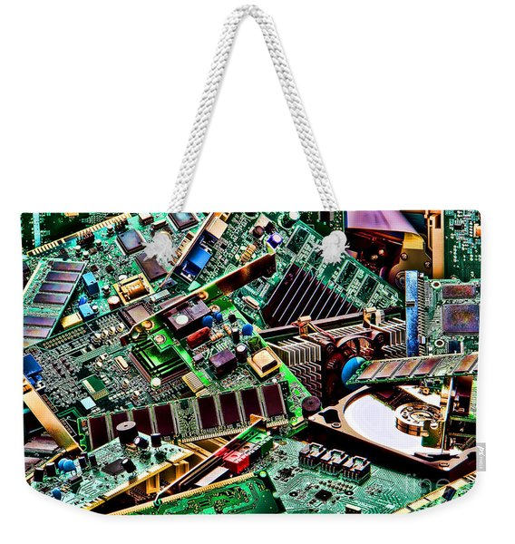 Computer Parts Weekender Tote Bag