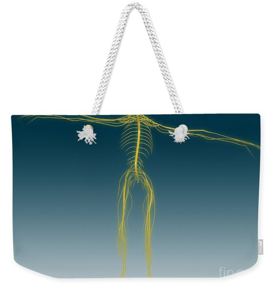 Conceptual Image Of Human Nervous Weekender Tote Bag