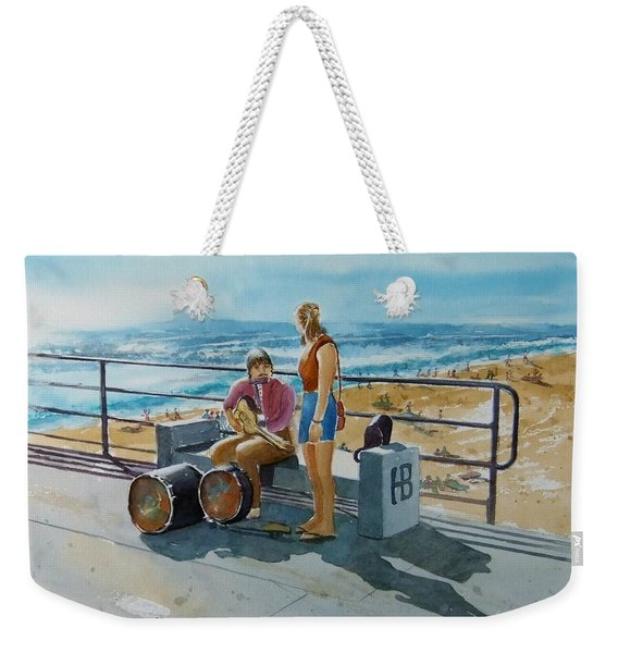 Concert In The Sun To An Audience Of One Weekender Tote Bag