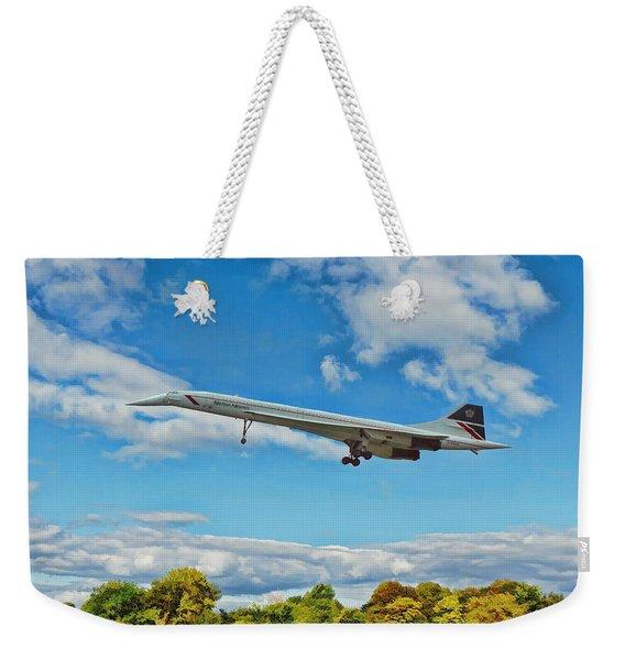 Concorde On Finals Weekender Tote Bag