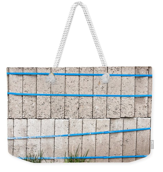 Concrete Blocks Weekender Tote Bag