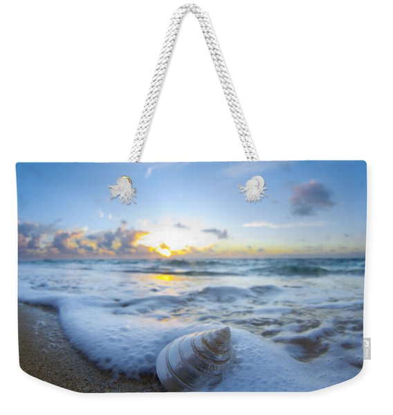Cone Shell Foam Weekender Tote Bag