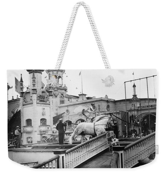 Coney Island Circus, C1910 Weekender Tote Bag