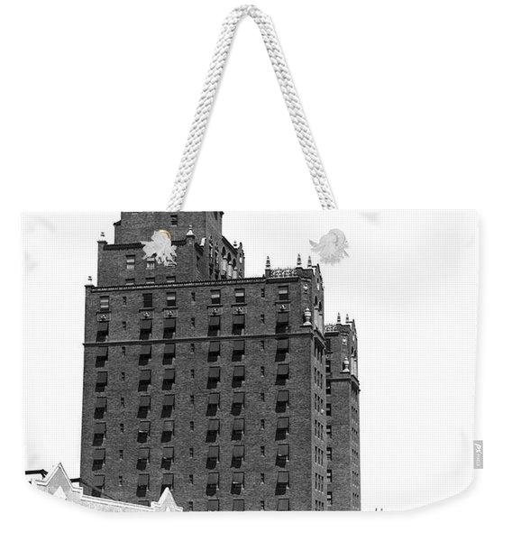 Coney Island Half Moon Hotel Weekender Tote Bag
