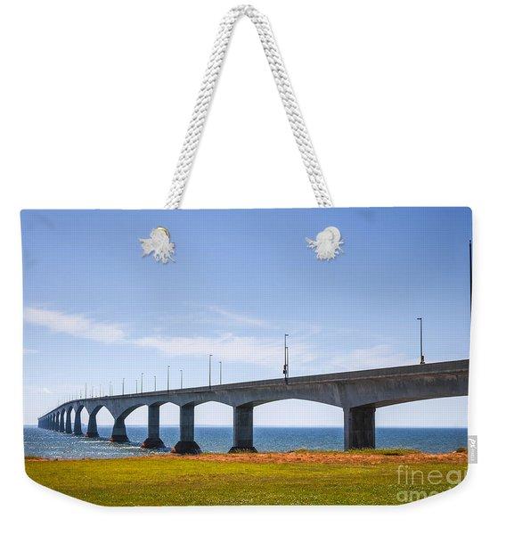 Confederation Bridge Weekender Tote Bag