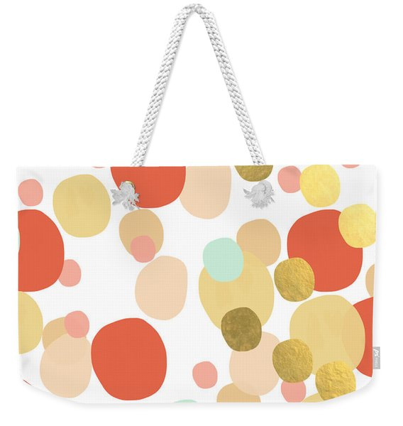 Confetti- Abstract Art Weekender Tote Bag