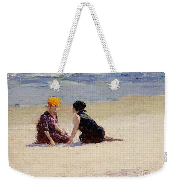 Confidences Weekender Tote Bag
