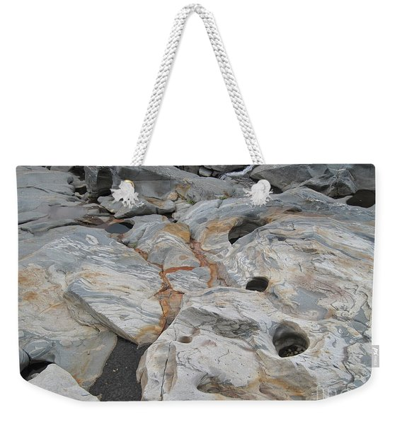 Connecticut River Bed Weekender Tote Bag