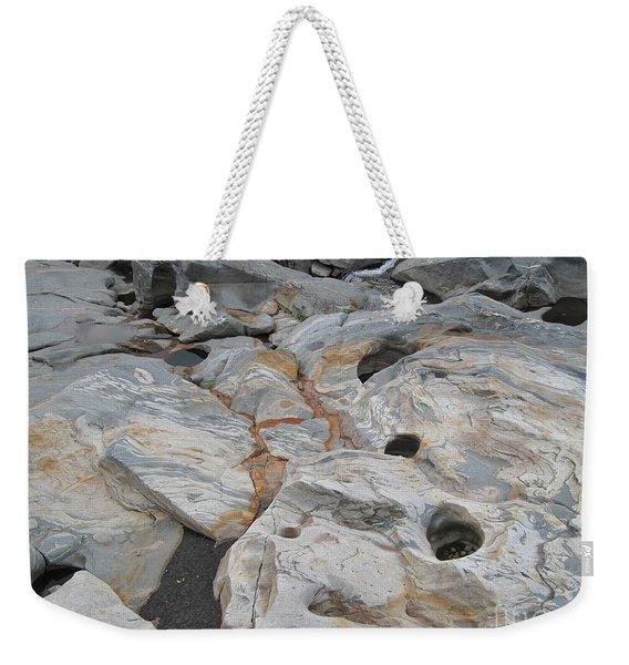 Connecticut River Bed Weekender Tote Bag