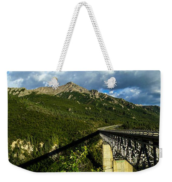 Connecting Life Weekender Tote Bag