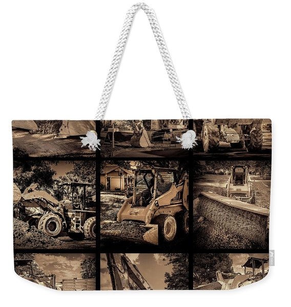 Construction Collage-1 Weekender Tote Bag
