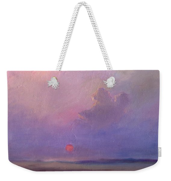 Contemplation At Sunset Weekender Tote Bag