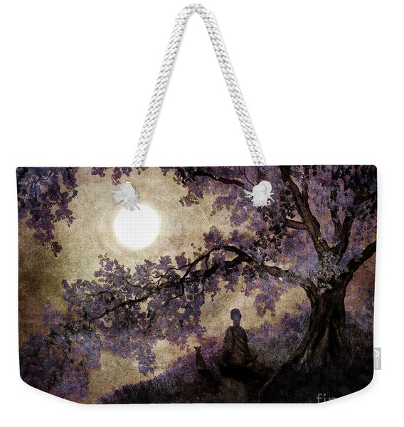 Contemplation Beneath The Boughs Weekender Tote Bag