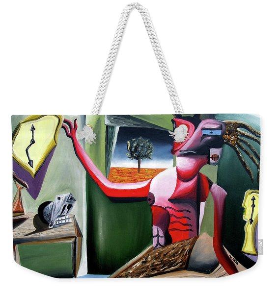 Contemplifluxuation Weekender Tote Bag