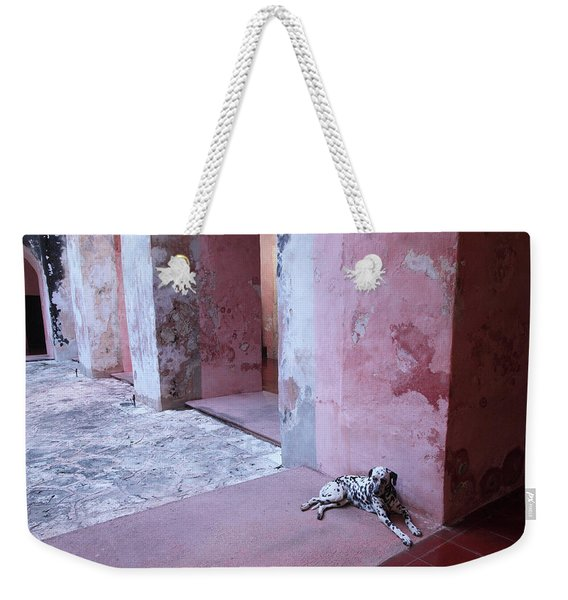 Convent Dog Weekender Tote Bag