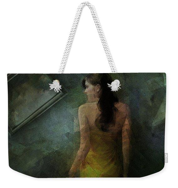 Conversance Conceptual Portrait Weekender Tote Bag