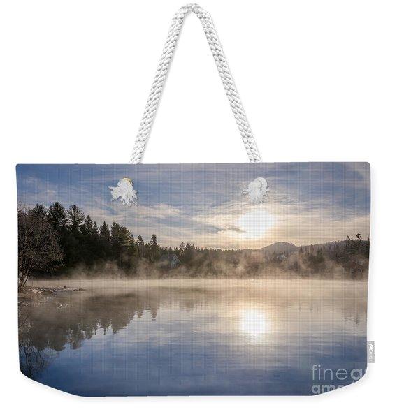 Cool November Morning Weekender Tote Bag