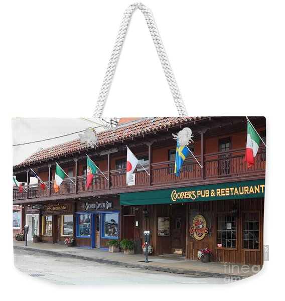 Coopers Pub And Restaurant On Monterey Cannery Row California 5d24774 Weekender Tote Bag