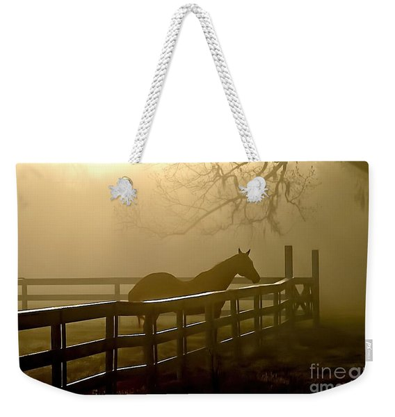 Coosaw Early Morning Mist Weekender Tote Bag