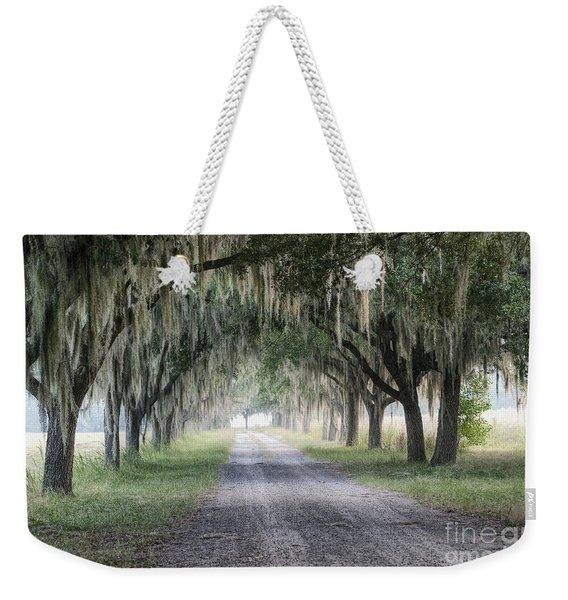 Coosaw Fog Avenue Of Oaks Weekender Tote Bag
