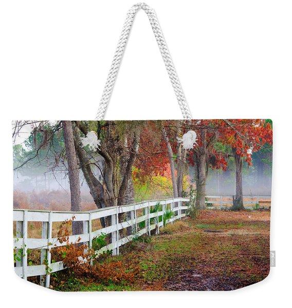 Coosaw Horse Fence Weekender Tote Bag
