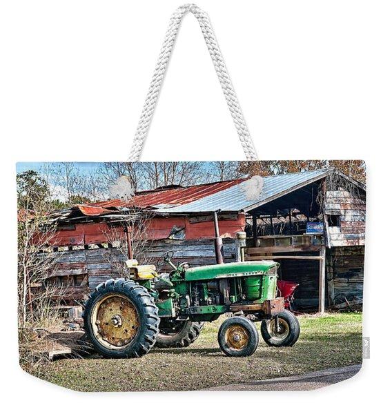 Coosaw - John Deere Tractor Weekender Tote Bag