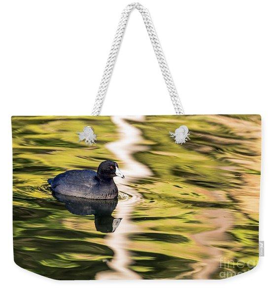 Coot Reflected Weekender Tote Bag