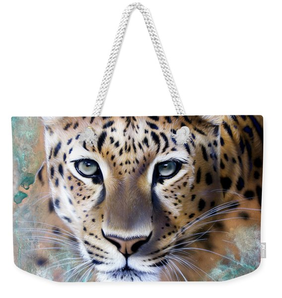 Copper Stealth - Leopard Weekender Tote Bag