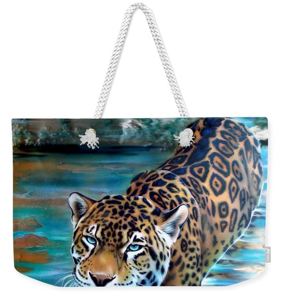 Copper - Temple Of The Jaguar Weekender Tote Bag