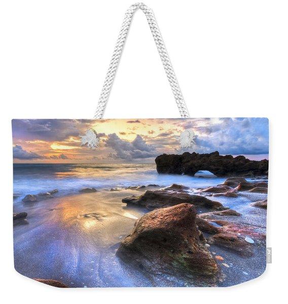 Coral Garden Weekender Tote Bag