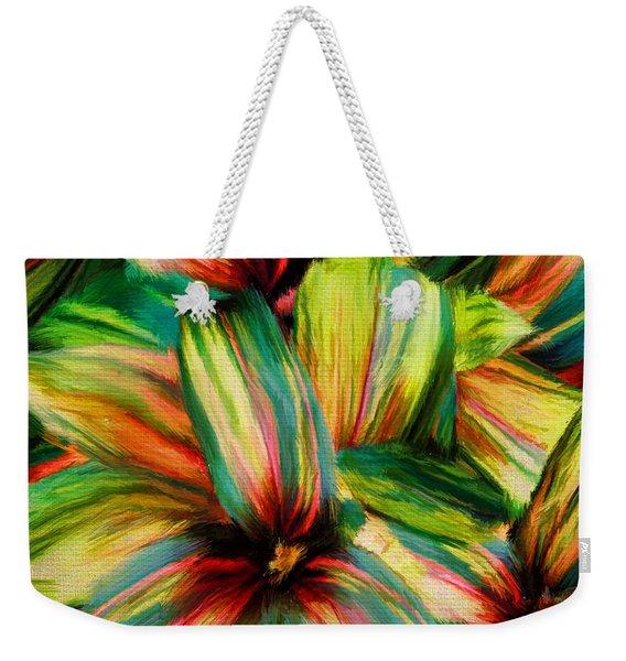 Cordyline Weekender Tote Bag