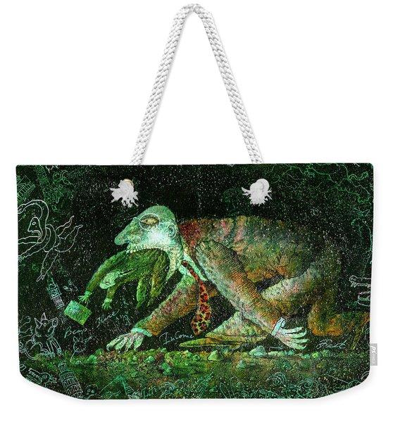 Corporate Predator Weekender Tote Bag